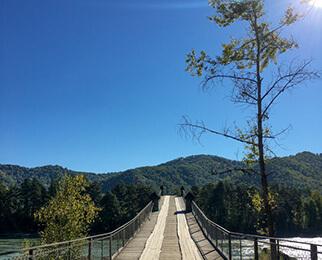 айский мост пеший горный алтая ая